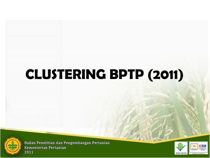 CLUSTERING BPTP (2011)