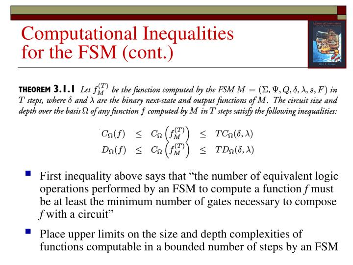 Computational Inequalities