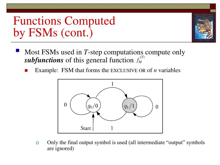 Most FSMs used in