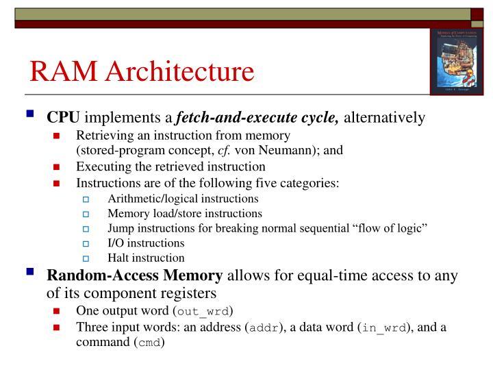 RAM Architecture