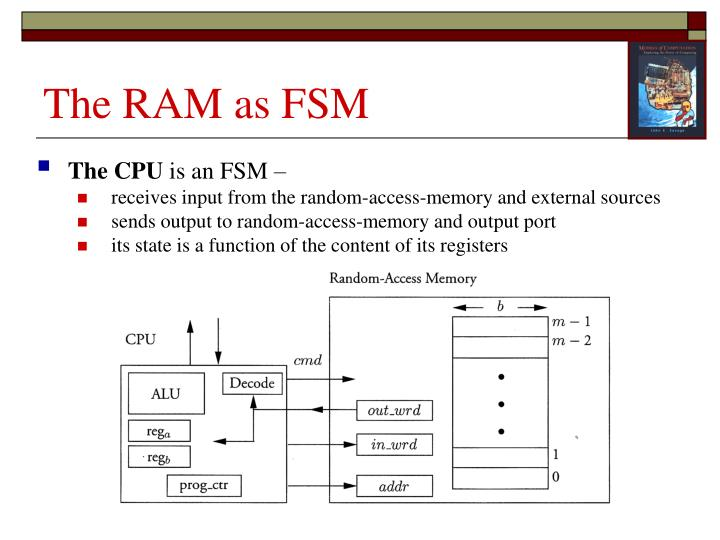 The RAM as FSM