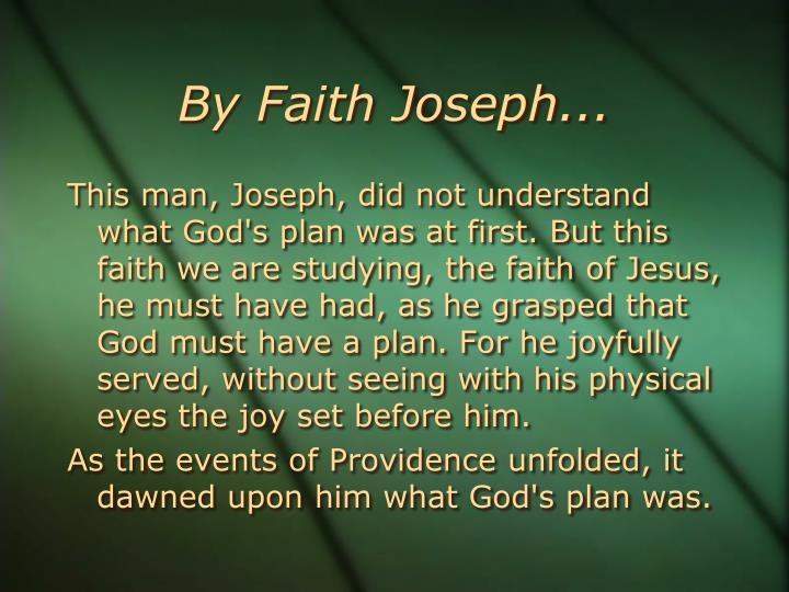 By Faith Joseph...