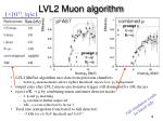 lvl2 muon algorithm