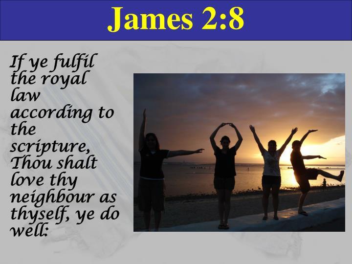 James 2:8