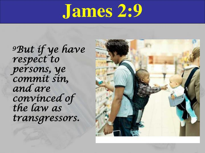 James 2:9