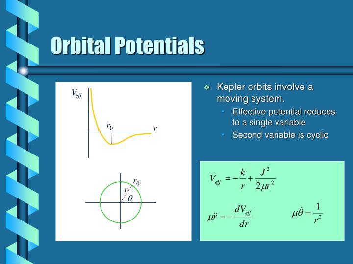 Orbital Potentials