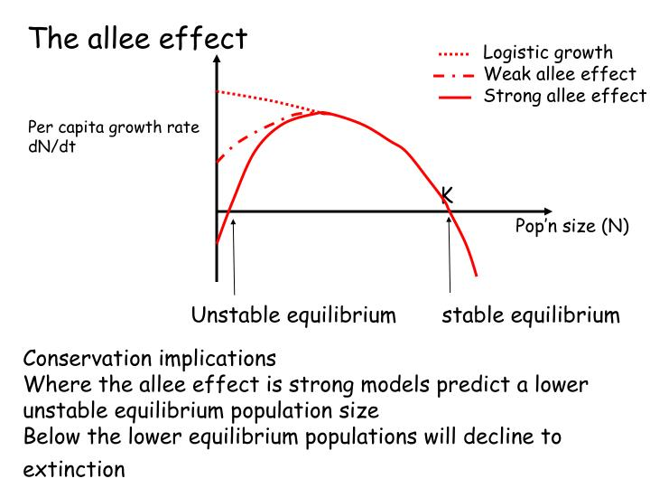 The allee effect