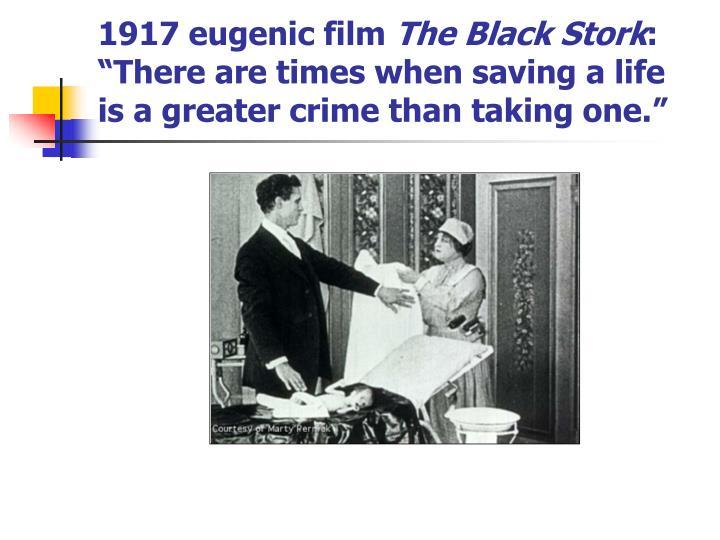 1917 eugenic film