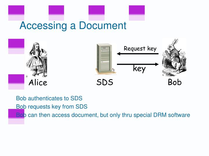Accessing a Document
