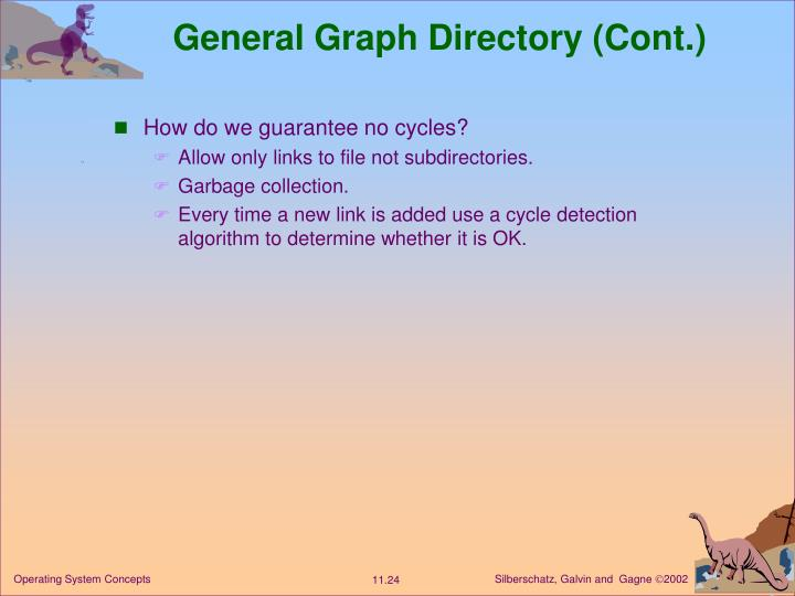 General Graph Directory (Cont.)