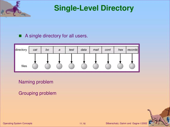 Single-Level Directory