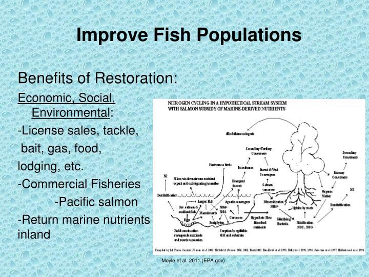 Improve Fish Populations