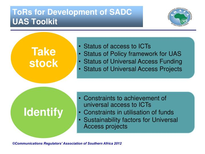 ToRs for Development of SADC UAS Toolkit