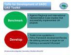 tors for development of sadc uas toolkit1
