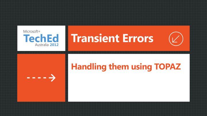 Transient Errors