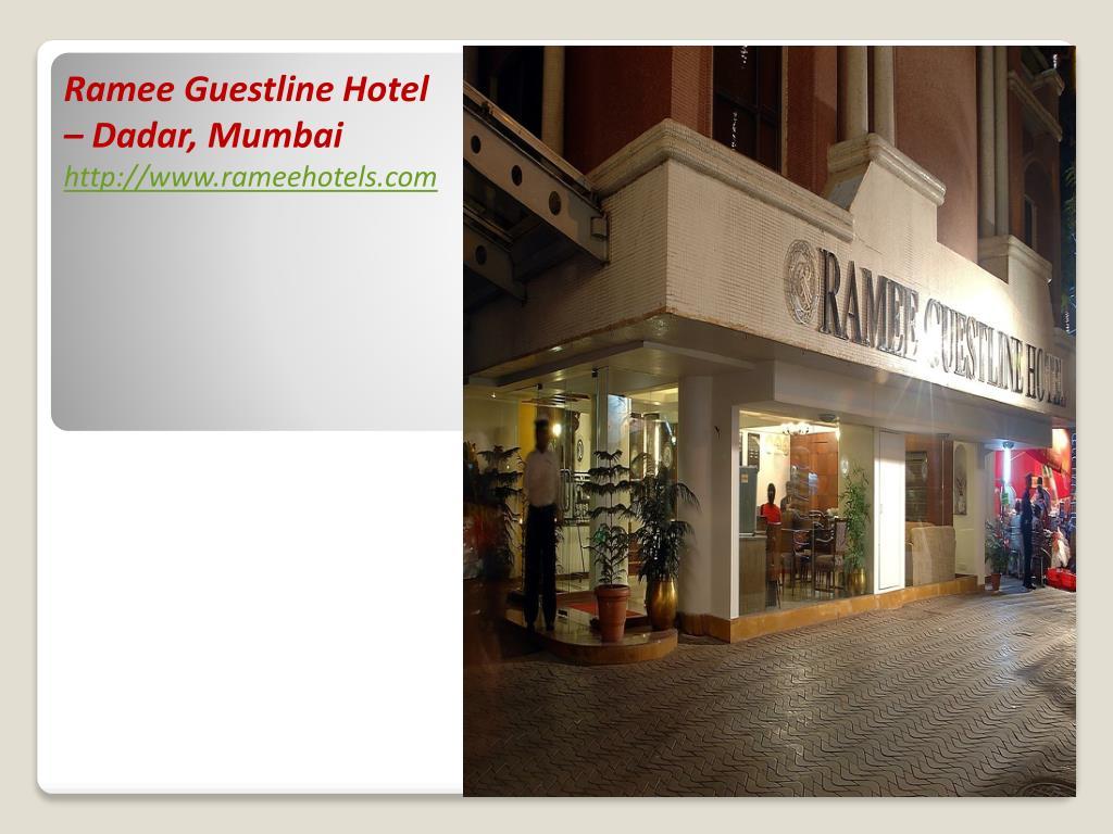 Ramee Guestline Hotel – Dadar, Mumbai