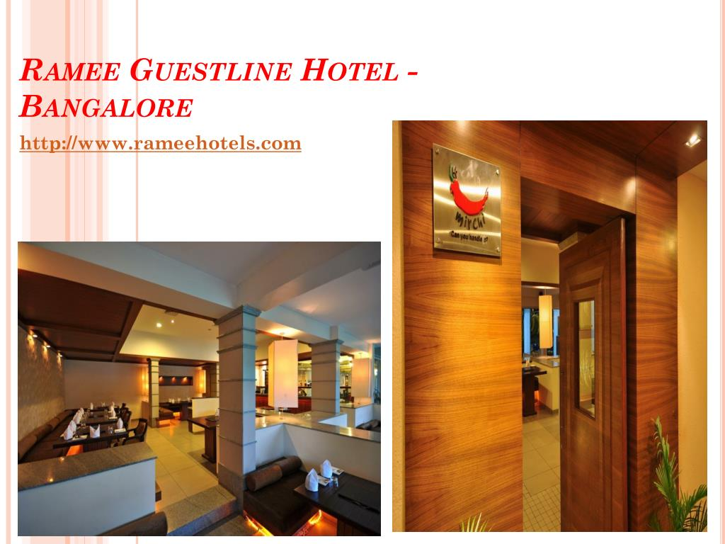 Ramee Guestline Hotel - Bangalore