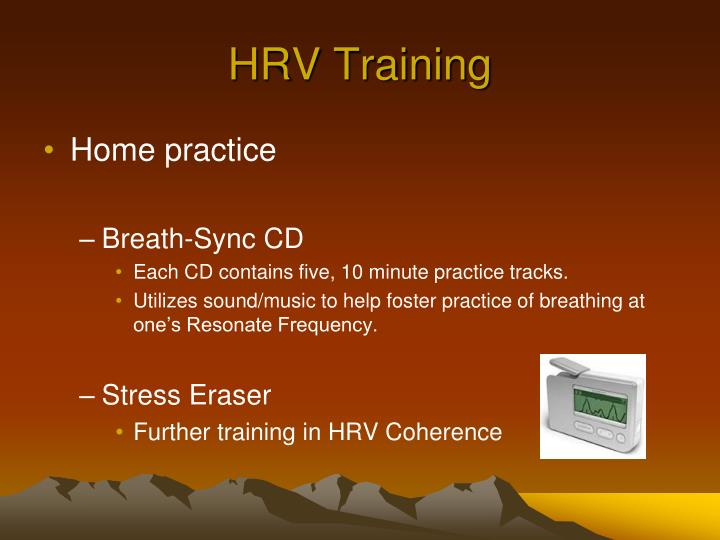 HRV Training