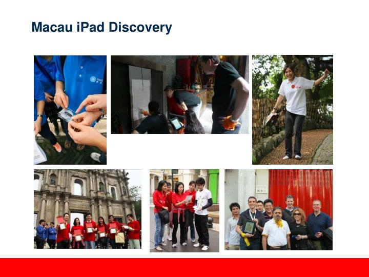 Macau iPad Discovery