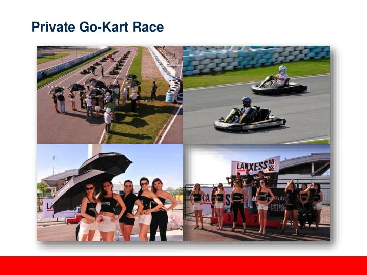 Private Go-Kart Race