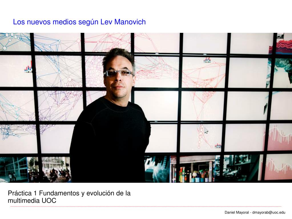 Los nuevos medios según Lev Manovich