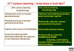 21 st century learning what does it look like1