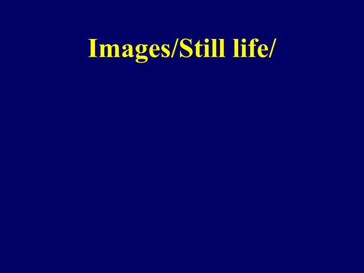 Images/Still life/