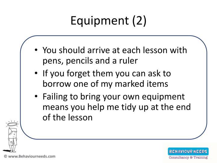 Equipment (2)