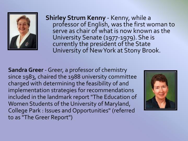 Shirley Strum Kenny