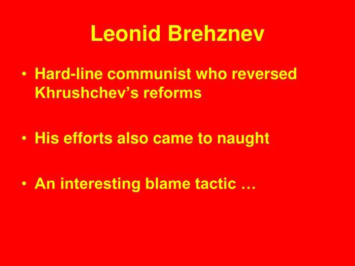 Leonid Brehznev