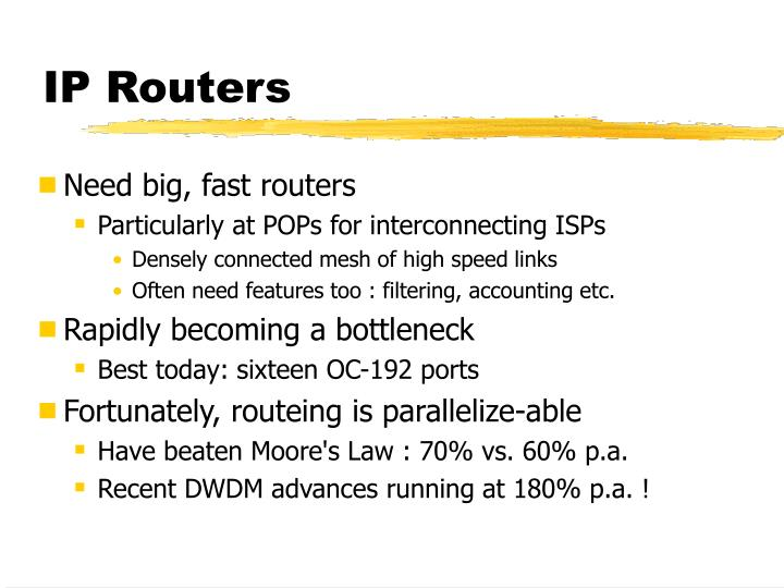 IP Routers