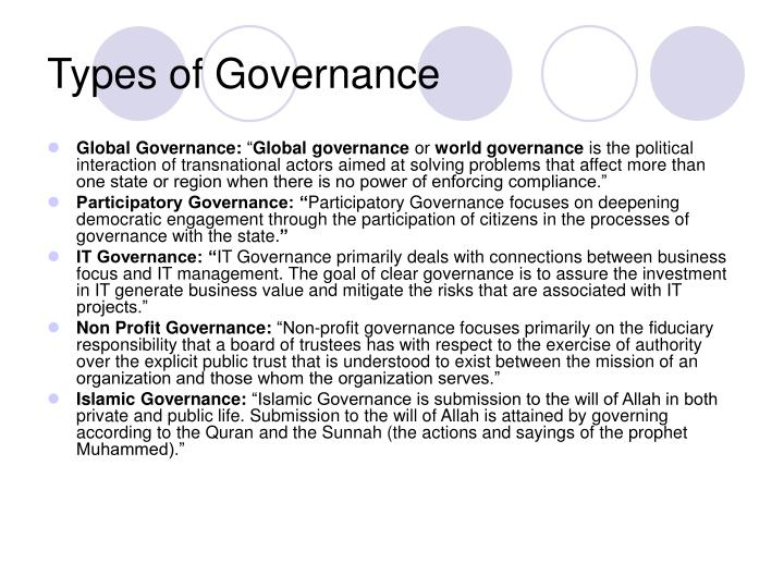 problems associated with ngos undertaking governance Strategy and governance   the main problem in the study of problems and the organizations  four types of problem that may be associated with each of the .