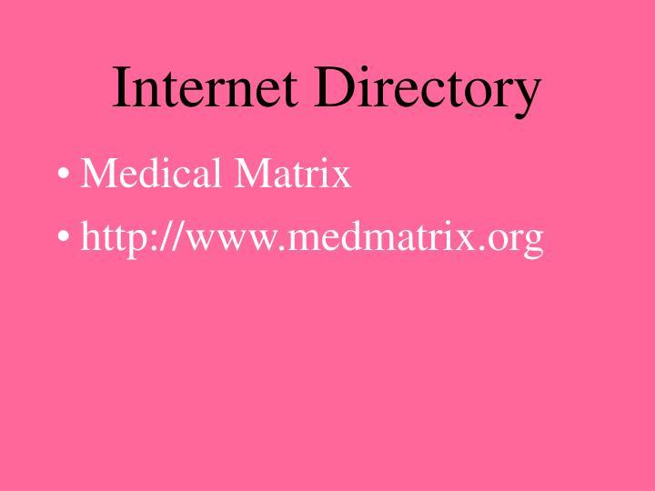 Internet Directory