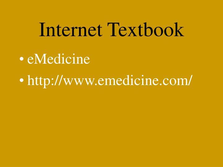 Internet Textbook