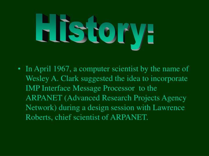 History: