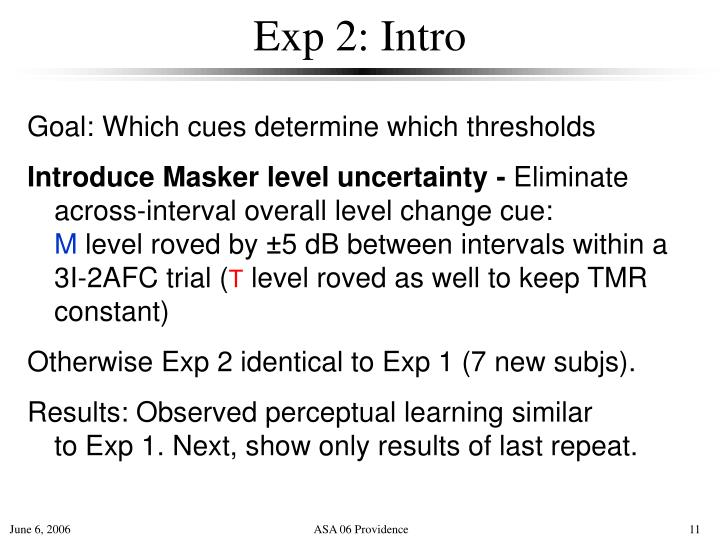 Exp 2: Intro