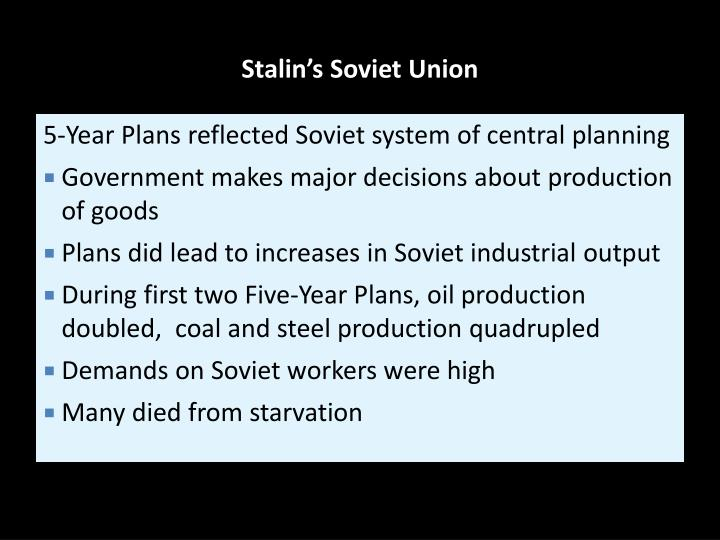 an analysis of joseph stalins rise to absolute power in soviet union Joseph stalin (1878–1953) served as the general secretary of the communist party of the soviet union's central committee from 1922 until his death in 1953 initially, stalin's role in the committee was limited, but he gradually accumulated power and became the party's leader and absolute ruler of the soviet union.