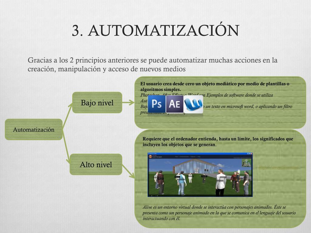 3. AUTOMATIZACIÓN