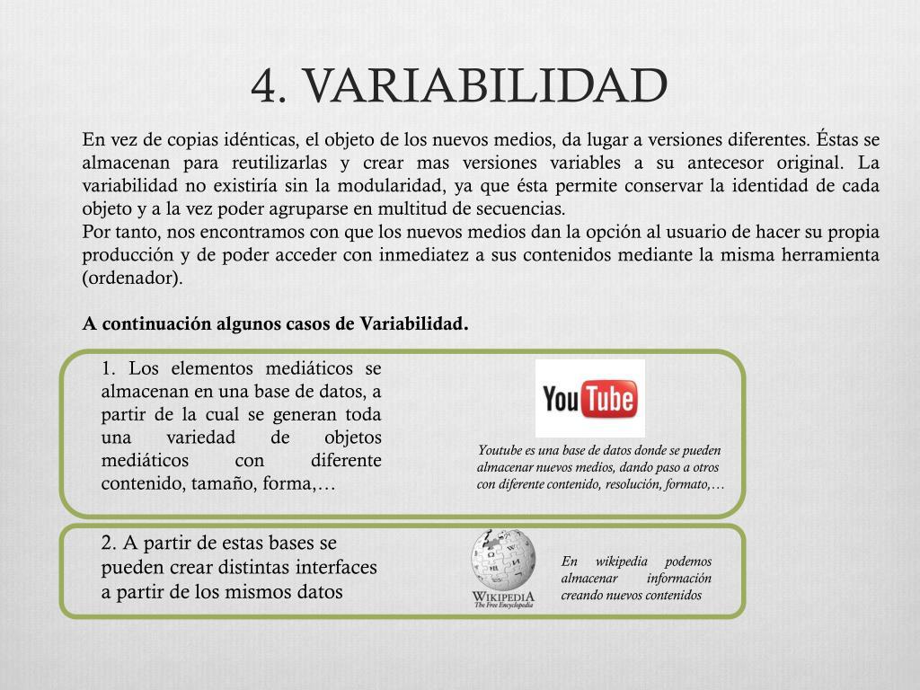 4. VARIABILIDAD