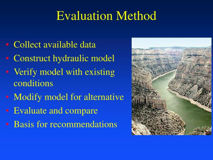 Evaluation Method