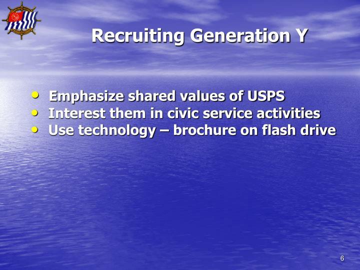 Recruiting Generation Y