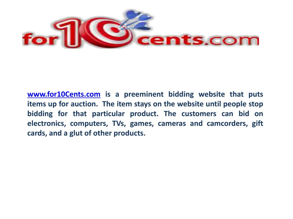 www.for10Cents.com