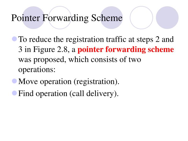 Pointer Forwarding Scheme