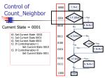 control of count neighbor3