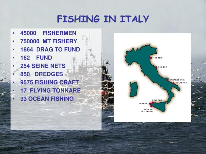 FISHING IN ITALY