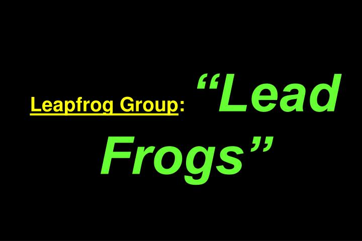 Leapfrog Group