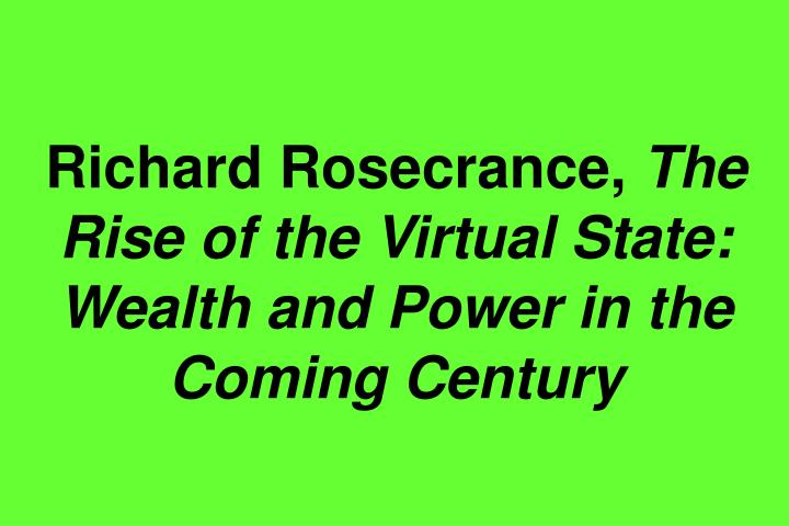 Richard Rosecrance,