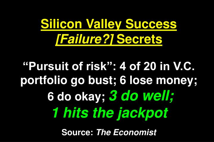 Silicon Valley Success