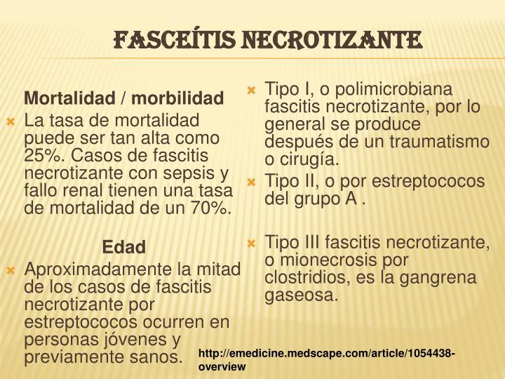 FASCEÍTIS NECROTIZANTE