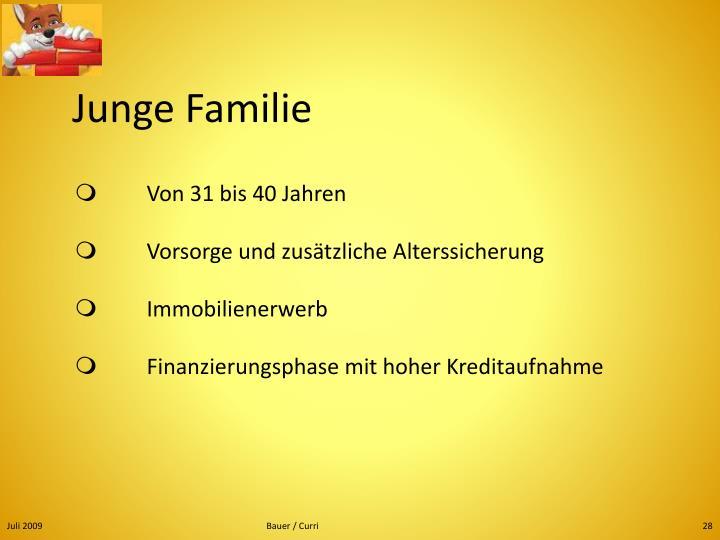 Junge Familie